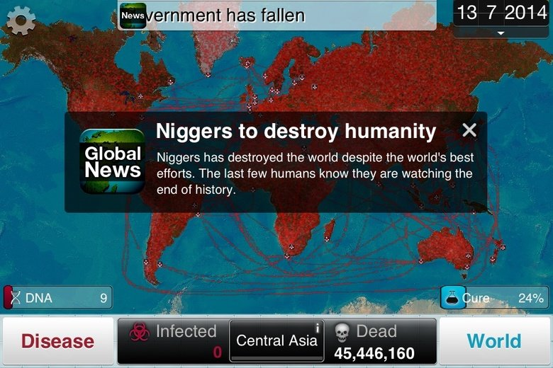 s. . argment has fallen 13 7 2014 Niggers to destroy humanity X. Global Niggers has destroyed the weed despite the wered' s best blows alerts. The last few huma