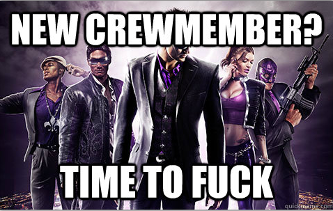 Saints Row. . A in. I played that game so much that my keyboard broke =/