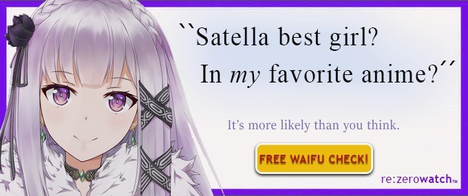 Satella yes.. join list: HappyThoughts (1573 subs)Mention History.. Yep. Easy best girl after last episode. I don't care if she committed mass genocide in the past or whatever.