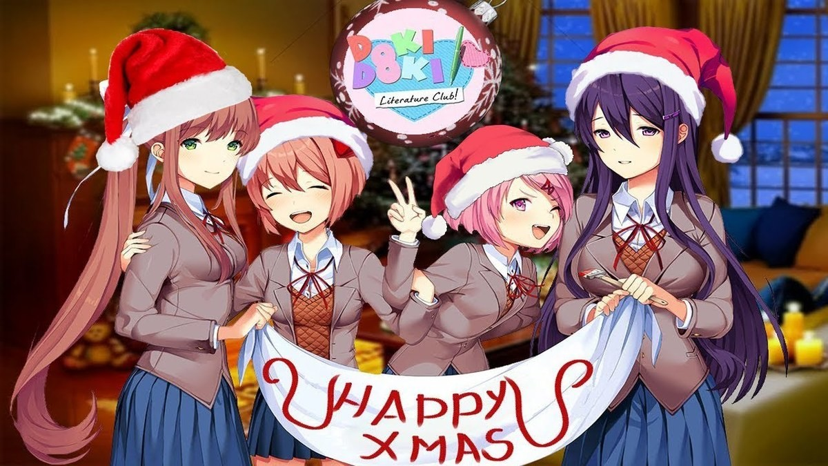 Sayori Christmas. Its been awhile. i thought it would be nice to post the character that started it all. merry christmas join list: HappyThoughts (1573 subs)Men