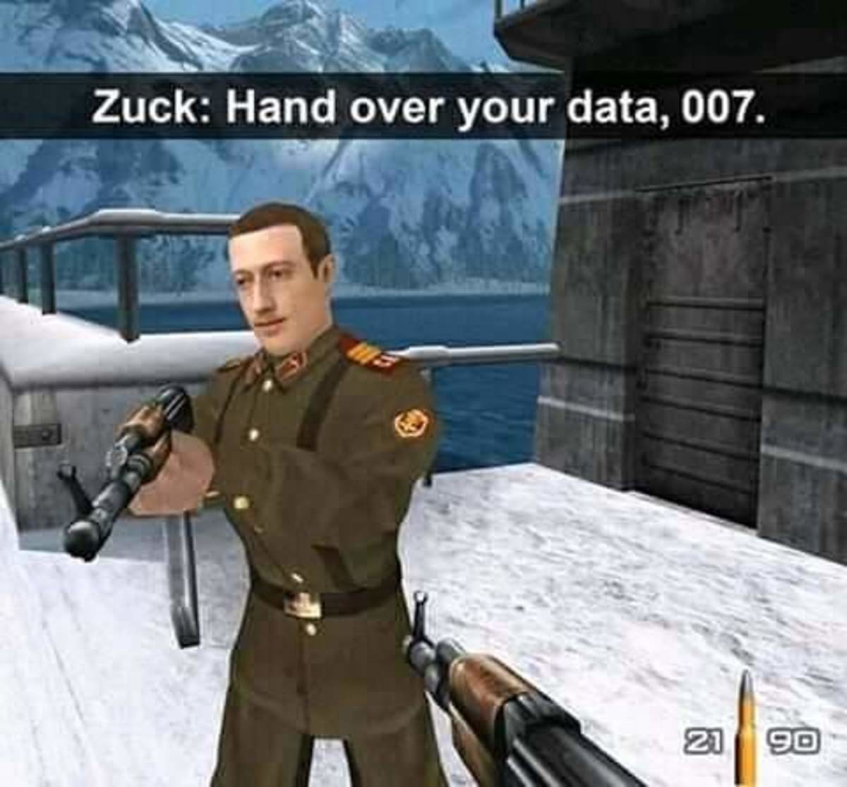 scarce stylized wacky Sparrow. .. but Zuck didn't know Bond was played by a speedrunner