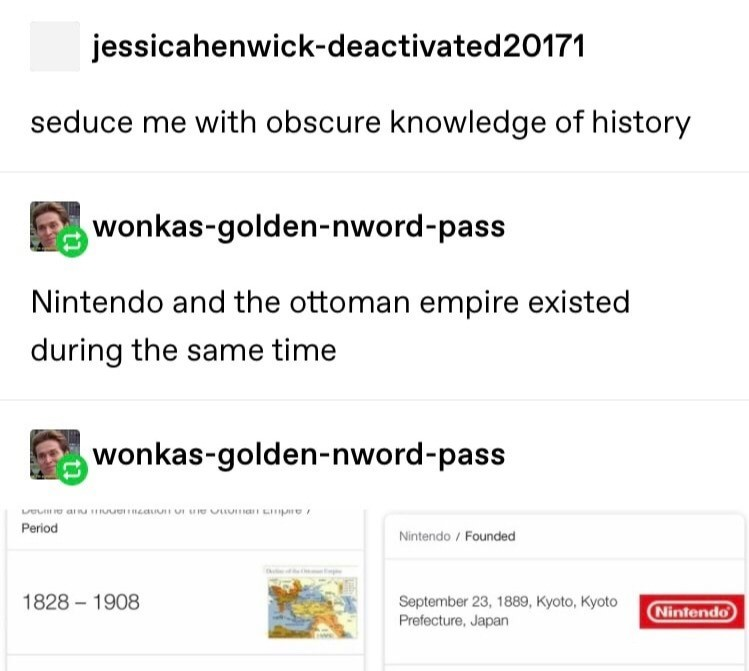 Seduce Me. .. what does nintendo do at 19th century?