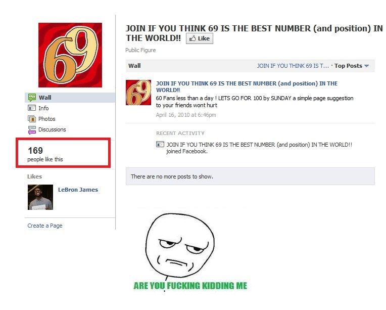 Seriously 69. Don't lool at le tags..