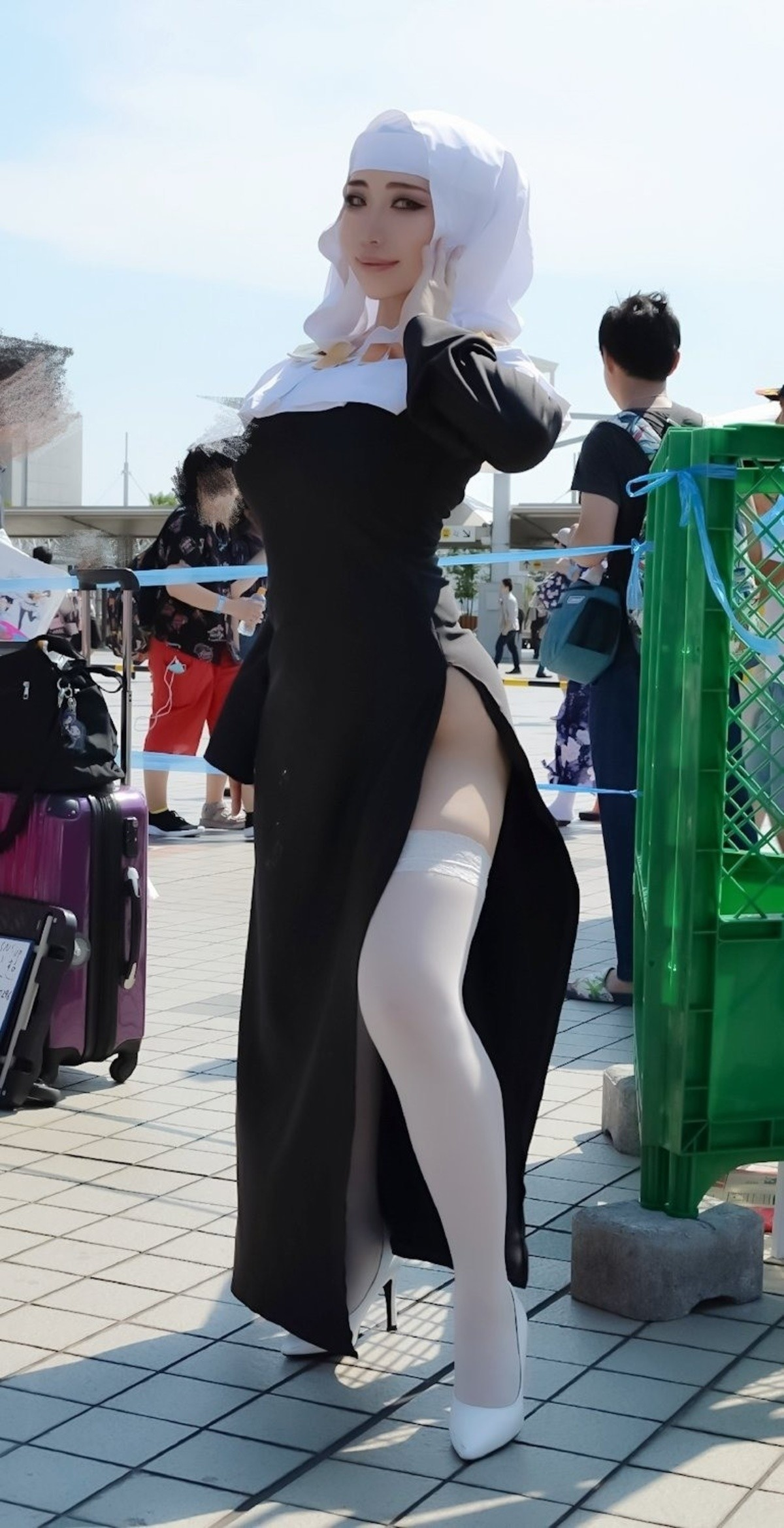 Sesshōin Kiara cosplay. .. HHHNNNGGGGGGG