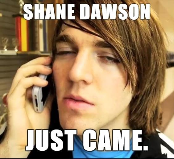 Shane Dawson. he did.. i saw this pic - and came