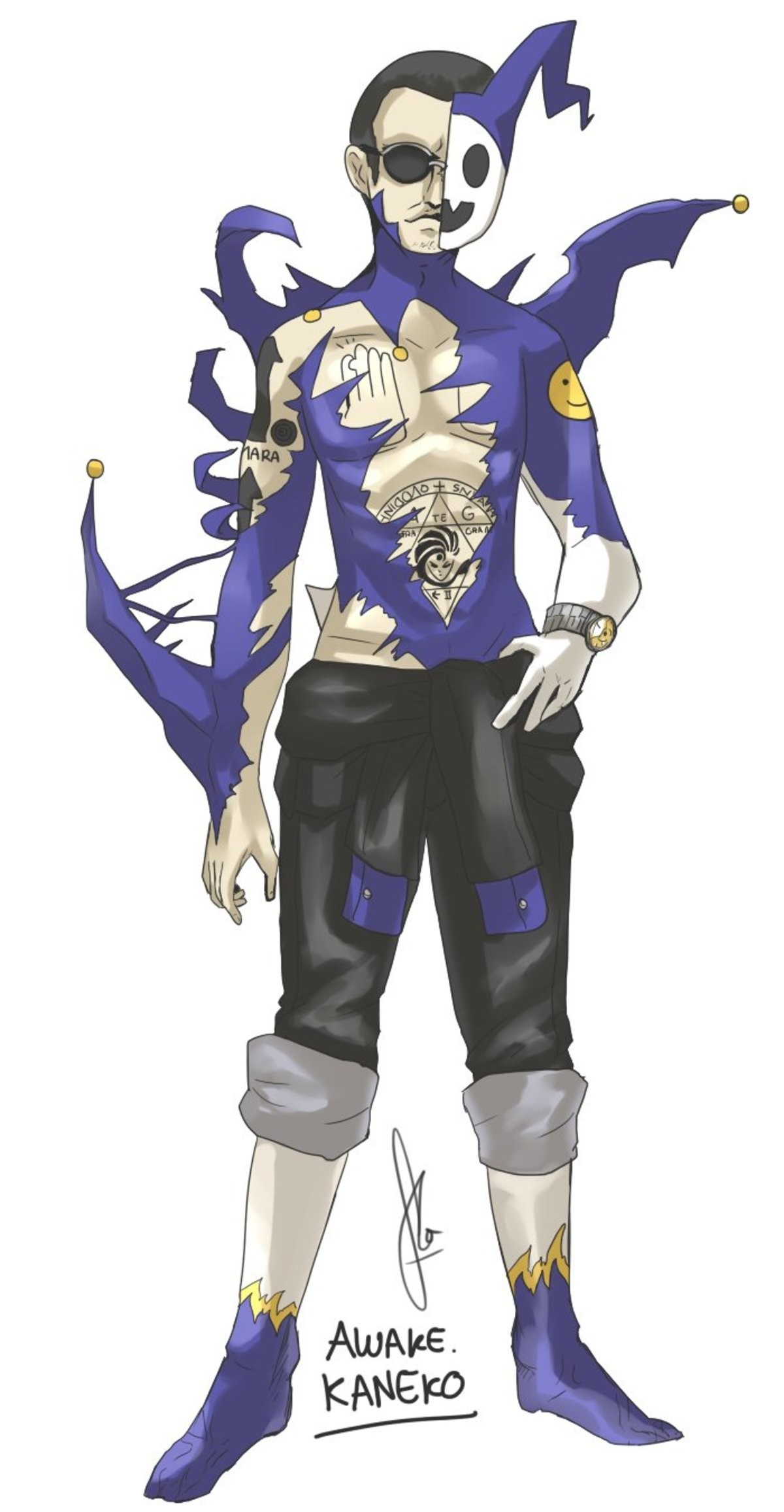 Shin-Kaneko ready to draw some sick ass demons. Artist: join list: MEGATEN (92 subs)Mention History join list:. kinda sad that you had to kill both him and zelenin