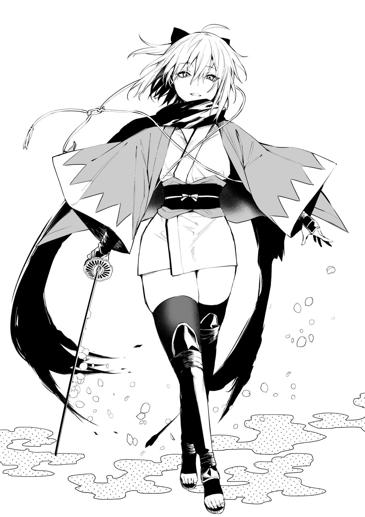 Shinsengumi's 1st Unit Captain. join list: Daishouri (85 subs)Mention History.. 2 right feet