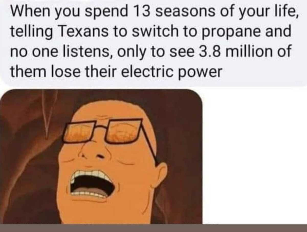 Should've Listened to Hank. .. Hank played the long game