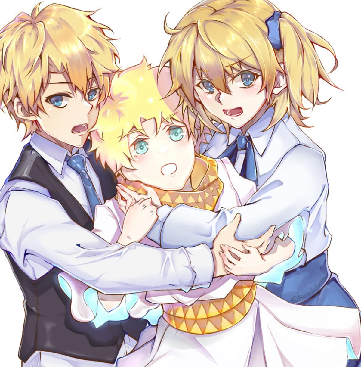 Siblings. ..