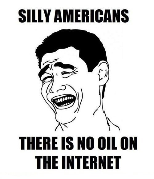 Silly Americans. Too lazy for a description. SHIT THERE IS PM [Ill tiel THE INTERNET
