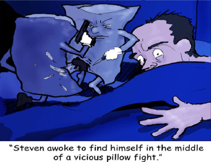 Sleep wit one eye open. Be sure to subscribe so you can catch all the comics!<br /> If you want to see a whole lot more of our crazy ass comics just follo