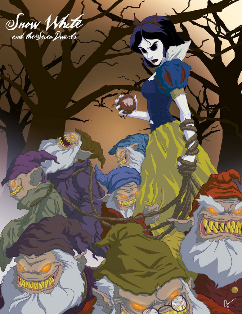 Snow white.. cool Cool COOL.. i would so watch that film