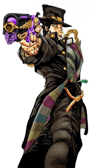 """""""So the Emperor is the same type of stand as Star Platinum"""". ."""
