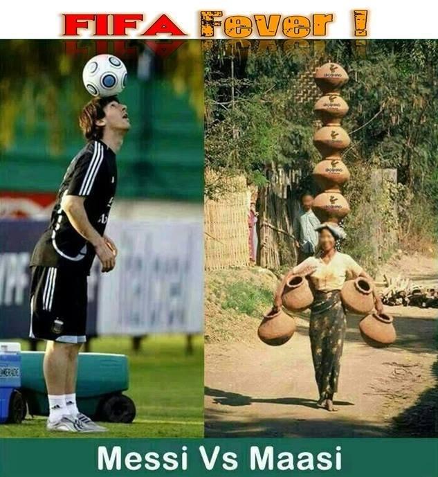 Soccer vs India. . Messi Vs Massi