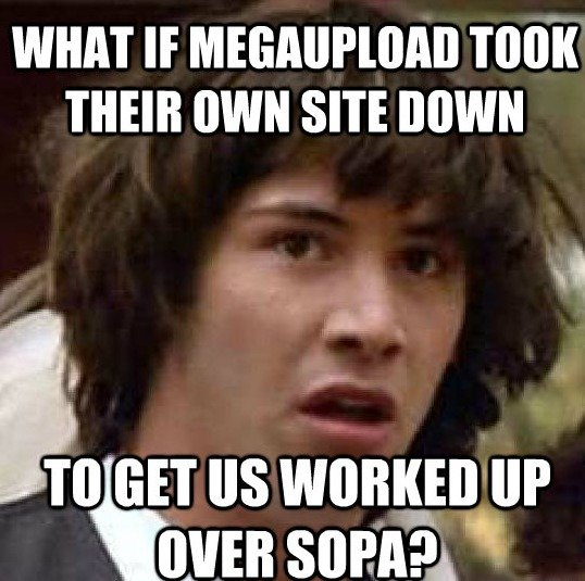 SOPA Megaupload. This is possible.. Then why would they go to jail ?