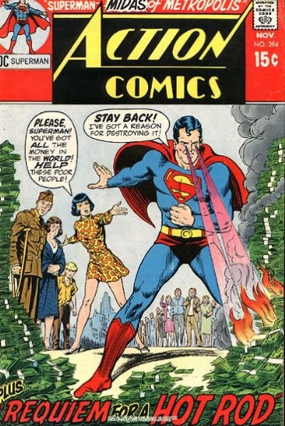 """Sorry poor people... He's got a """"reason"""". This is the nasty side of Superman. You'll find a lot more of these on superdickery.com. I'm just uploading my favorit"""