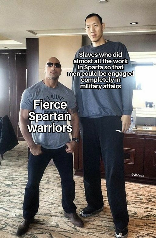 spartans!. .. isn't this the case for literally everything what a is a show without it's audience