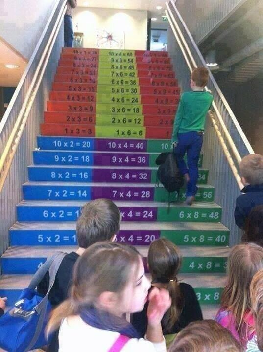 Stairs in a School. .. >mfw