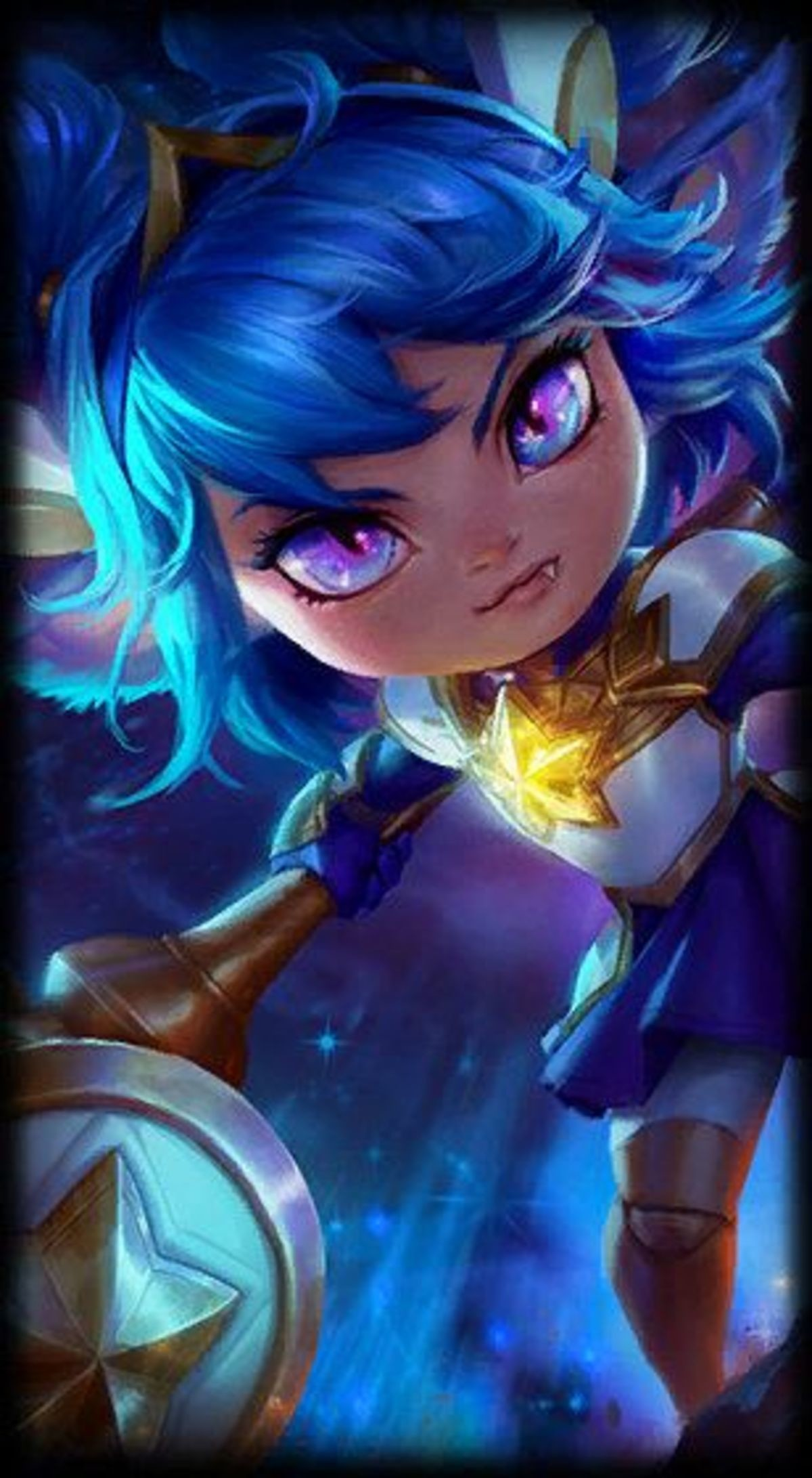 Star Guardian. .. Did you just post the loading screen frame. Why? For what purpose why not the whole splash in better quality