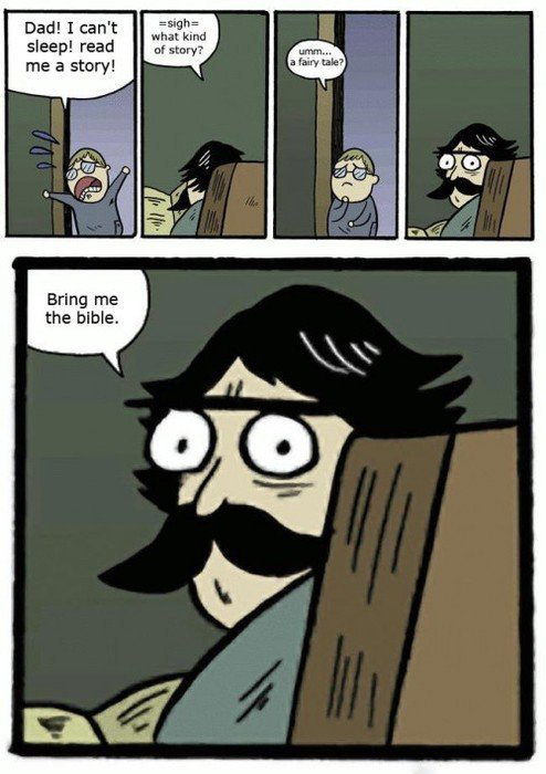 Stare dad. . Dad! I can' t sleep! reed