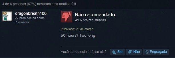 Steam reviews VS Play Store reviews. Mass Effect 2 Some random cow click game. rjl'.. Nina recomending acii: rar. an hours?. >50 hours >Long