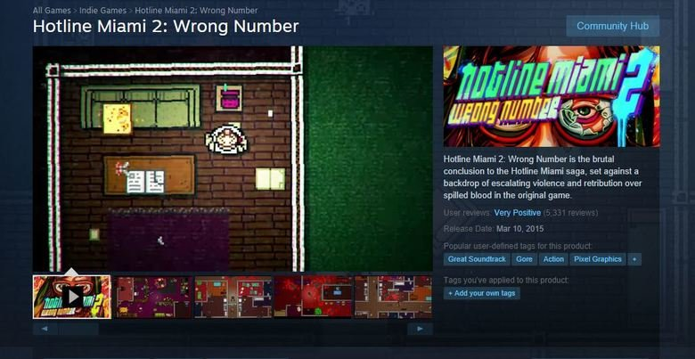 Steam Reviews. . Hartline Miami 2: Wrong Number Community Hub Hartline Miami 2: Wrong Number is the brutal to the Hartline Miami saga, set against a backdrop at