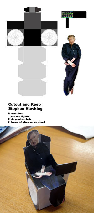 stephen hawking. Make your own!.