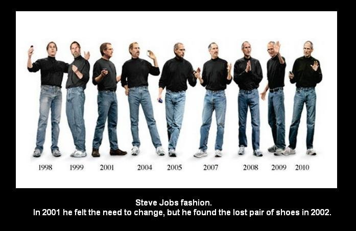 Steve Jobs Fashion. Like the iPhones, Steve Jobs' style has changed over the years.. Fairie he Steve Jobs fashion. In he felt the need to change, but he found t