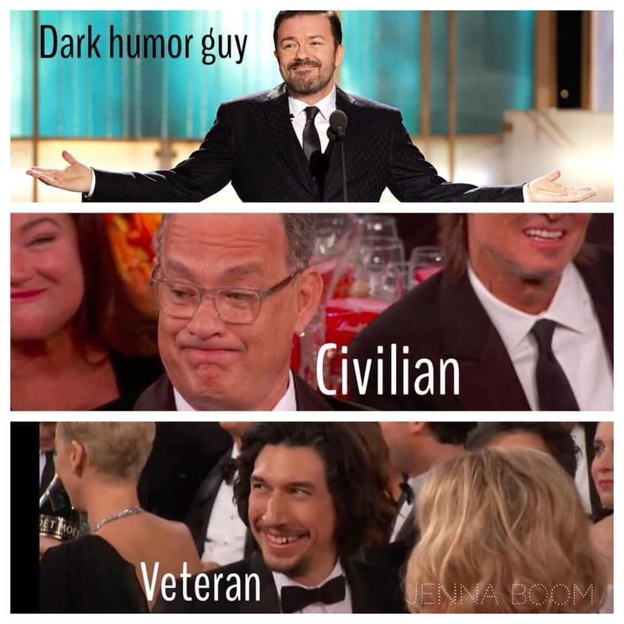 """Stolen meme. join list: USArmyExplain (318 subs)Mention Clicks: 14123Msgs Sent: 49894Mention History.. asugar used """"roll 1, 0001-1000""""asugar rolls 0,018Adam driver actually was a marine, funnily enough. Dubs and the marines are gayer than the navy."""