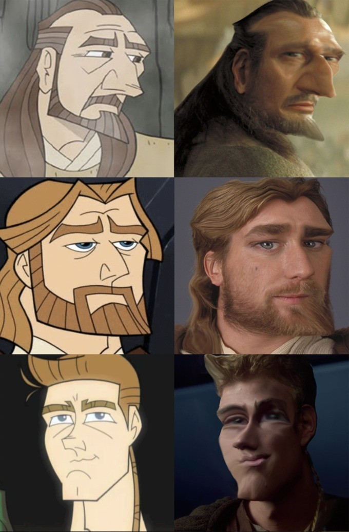 Stor wors. .. cartoon anakin looks like eminem pass it on