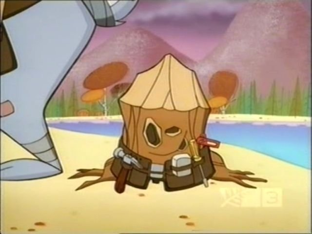 Stump. I miss him. and my childhood.. Do you think he's related to Plank?