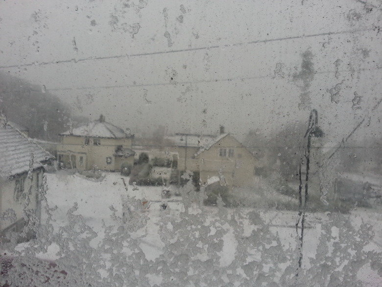 Suddenly- Winter. it was raining in norway when suddenly- WINTER hit.. So you live in the southern part of Norway? Because up north we got so much snow in a day that it was bare in the morning and you could drive a snowmobile when