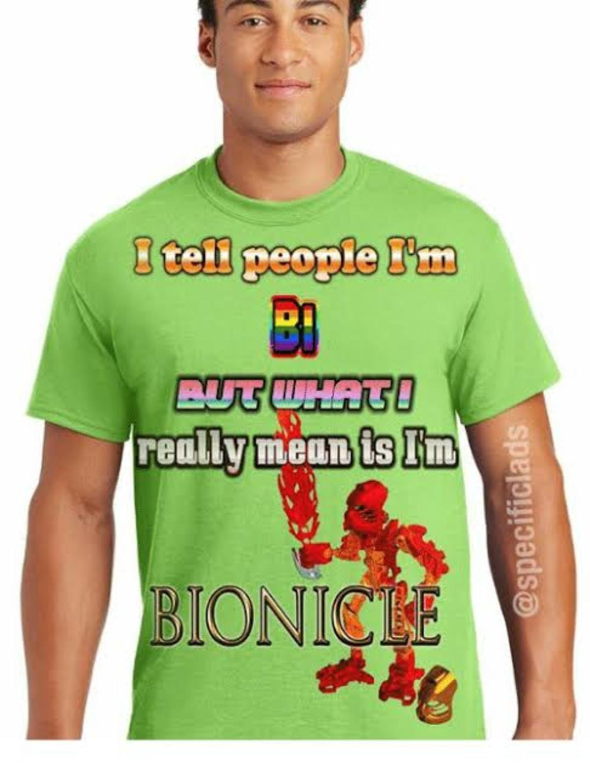 Support Bi. Sauce : .. Indeed I am bisexal