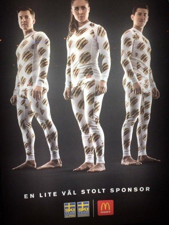 Swedish McDonalds ad. .