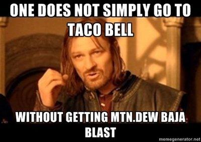 "Taco bell. true story, oc.. I [HIE new MT s_ TAM Bill """" WI' ' I' armie, Bfull BEST. I agree."