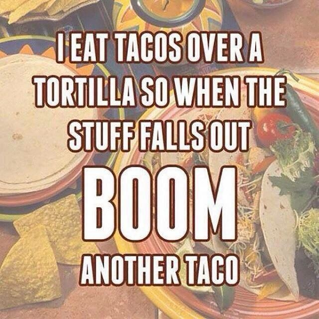 Taco Problem Solved. . lillol' ionics. tait aim. ''viii( Ill _lil 1 in. Repeat for infinite tacos
