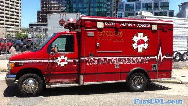 Taco Mergency. More funny pics: FastLol.com.. do want