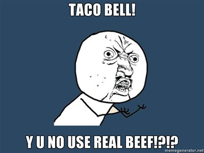 taco bell. last one tonight. just made it. + 15 for more?.
