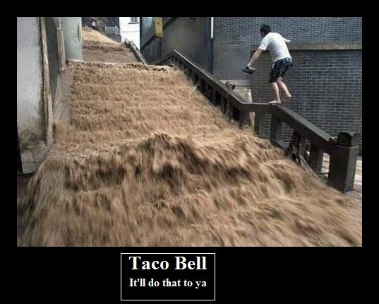 taco bell. FRONT PAGE?! HOLY HELL! THUMB FOR ALL COMMENTS!!! (except rolls). RTE do that to ya