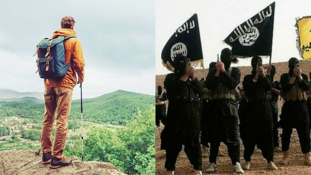 """Take A Gap Year b4 ISIS. Man is taking a gap year before joining ISIS """"ISIS is a demanding environment, and once you start there's no vacation. """" its"""