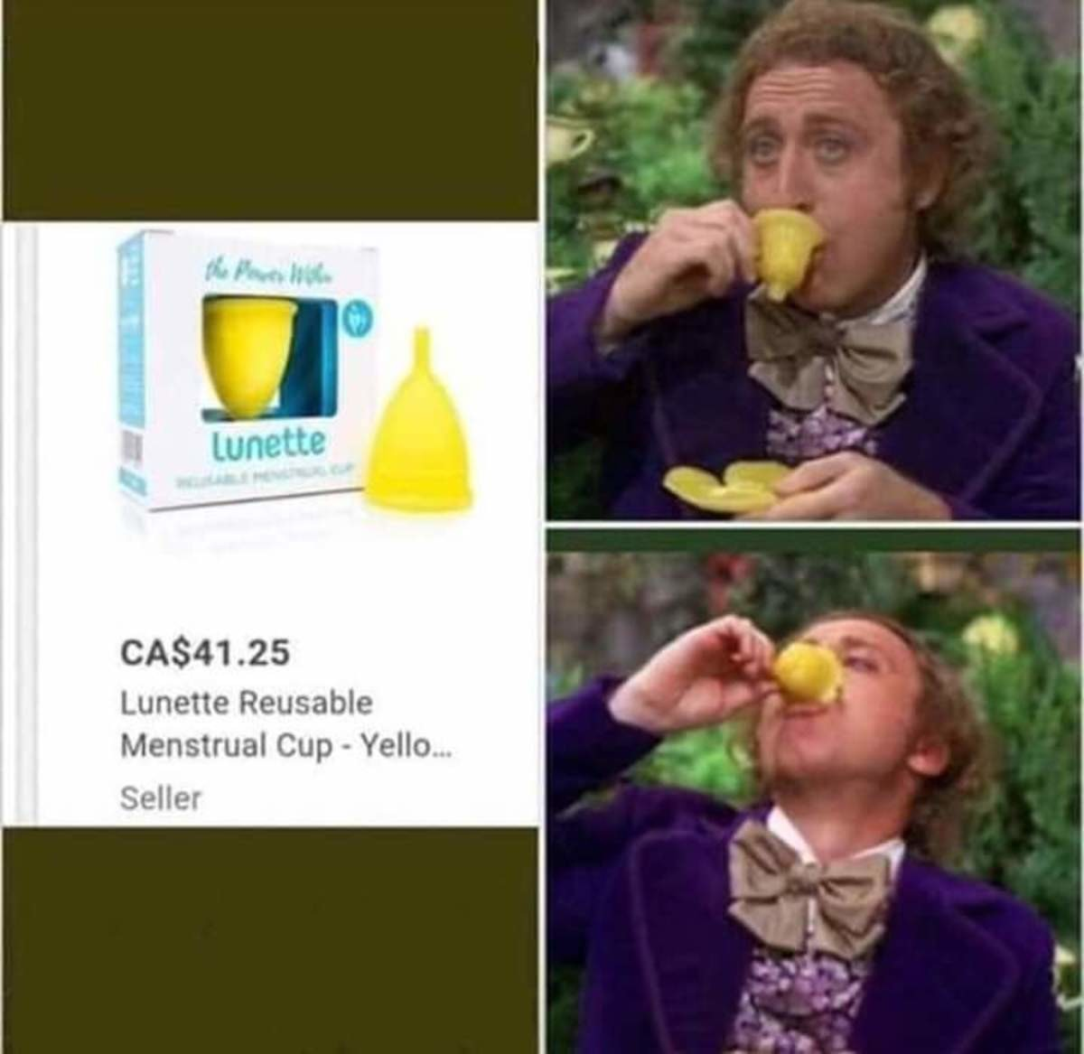 Take a sip. .. bruh