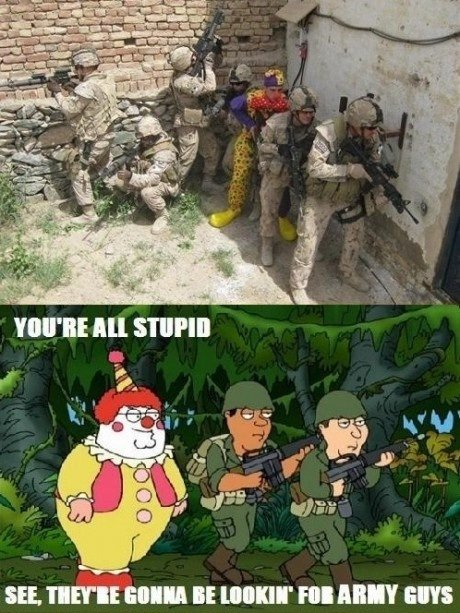 """Take Advice from Family Guy. They won't even think about shooting you.. SEE. ';; EIGH BE MINI' FBI III"""" ENS. Repost -__-"""