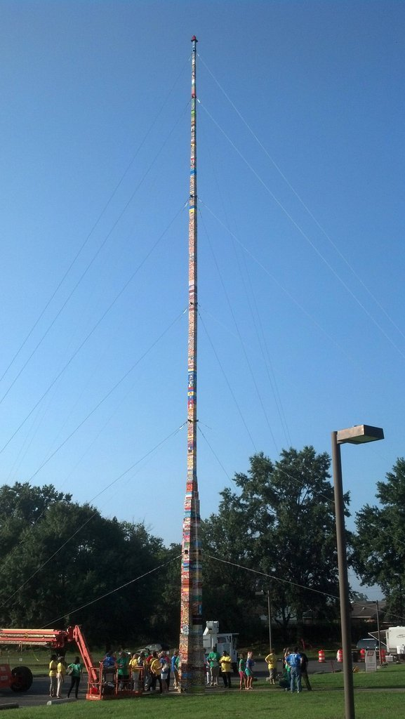 Tallest Lego tower in the world. .