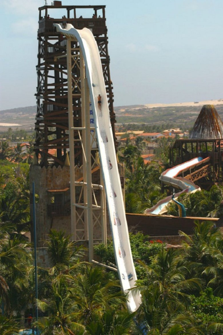 Tallest Waterslide In the World. Would you go down it?.. like it was your mom