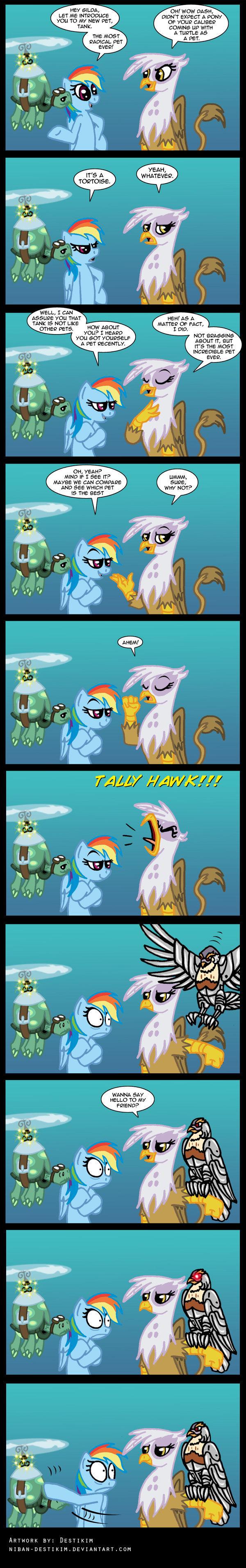 Tally hawk engage!. .. faggot