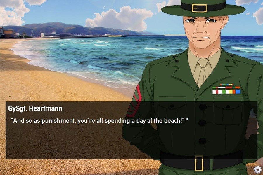 """tank dating simulator. my new favorite drug my new favorite drug. thinkt Heartmann And so as punishment, you' re all spending a day M the beach!"""" .. >me on FJ"""