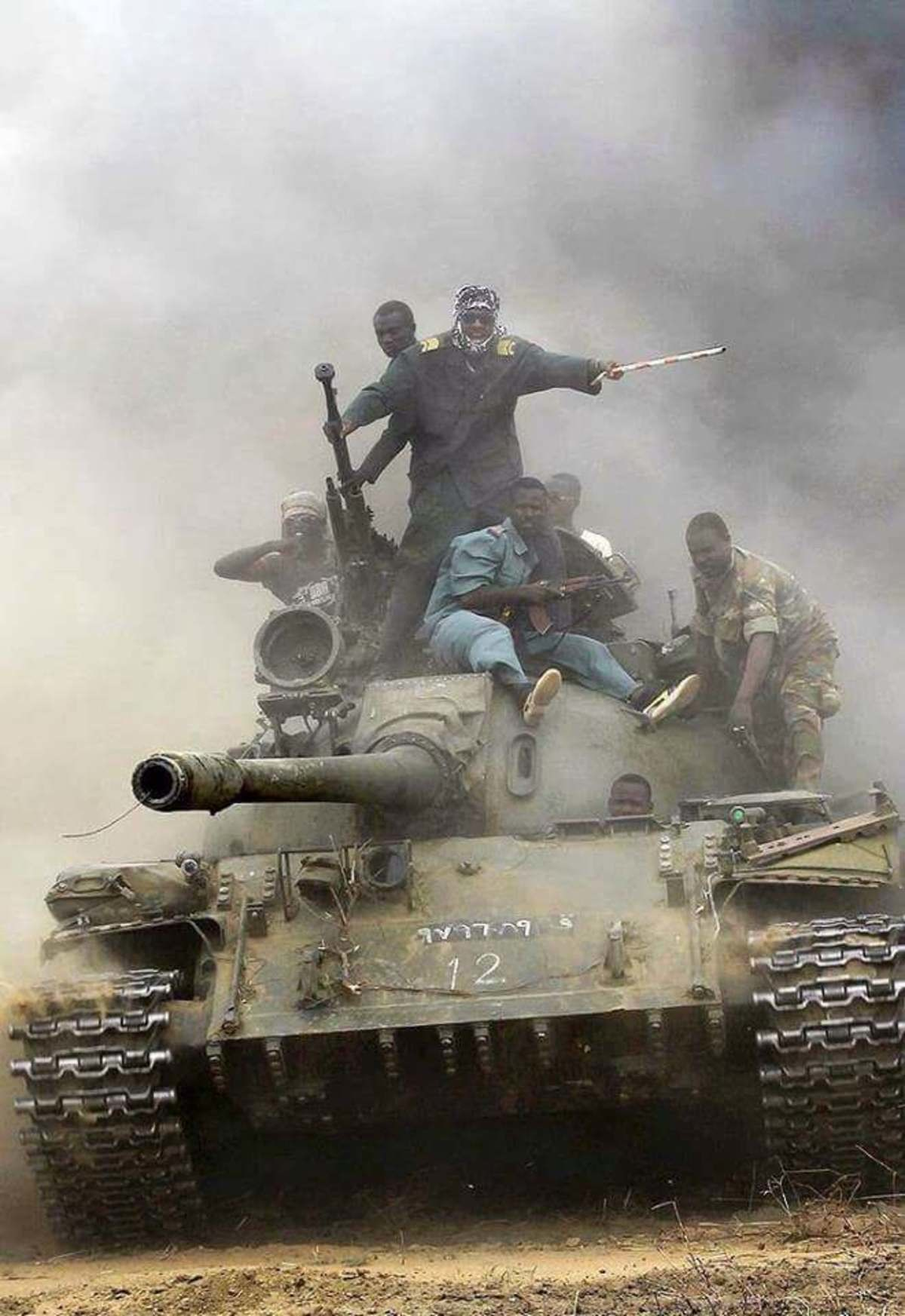 Tank during sudan civil war. .. Knowing my luck, my attempt would look something like this...