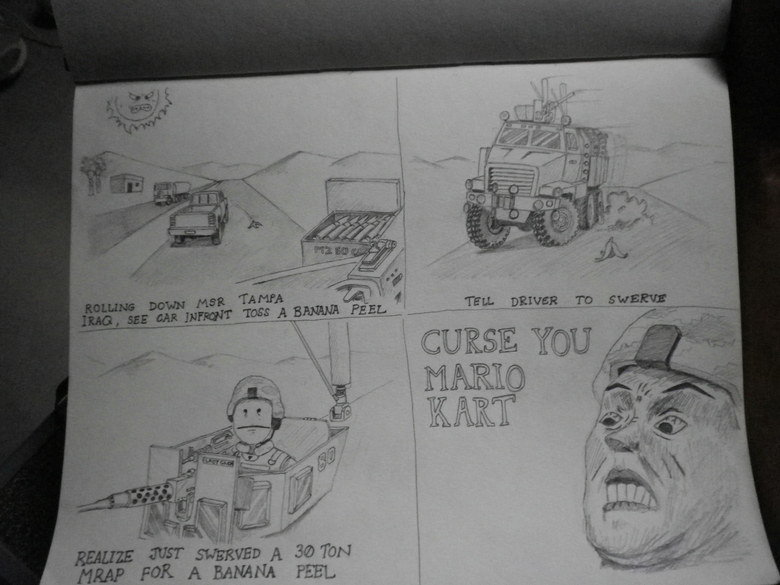 Tank vs 1,000 banana peels. Who wins?.. >MRAP >tank Pick one and only one.