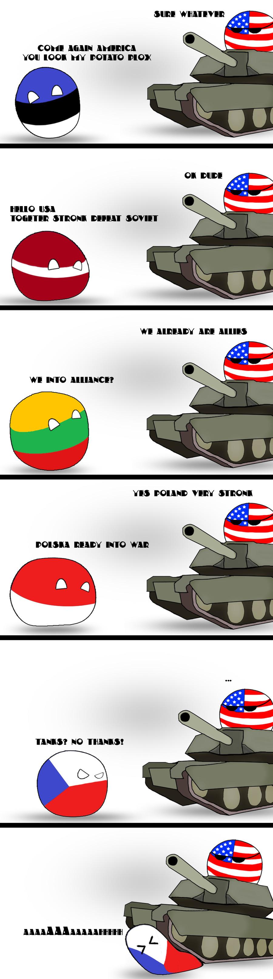 Tanks? NO thanks!. . SID! WIKA' I' IVIE! COM! AGAIN YOU IUOI HY POTATO DIOR IDA WI MIC ! aall DOIPPA READY MID WAR NO THANKS!. I love Americas smug aura