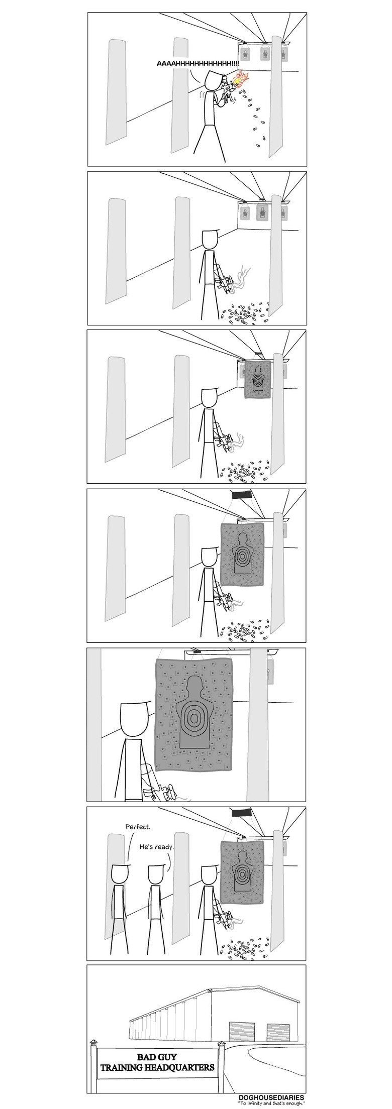 Target Practice. Source: . DOG Tn imam and that': an r. New to this, but tried to include the source: thedoghousediaries.com/3198